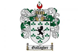 Gallagher crest